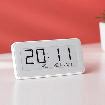 Xiaomi Mijia BT4.0 Bluetooth Wireless Smart Electric Digital Hygrometer Clock Indoor Thermometer Humidity Detection Smart Home