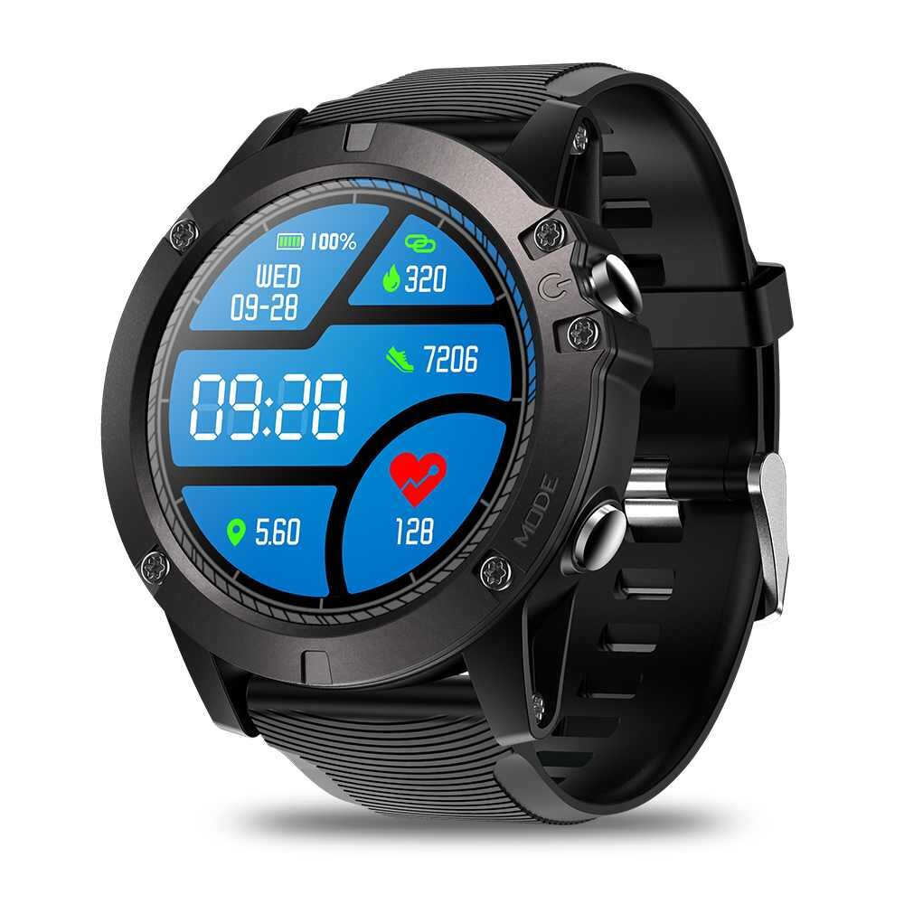 Zeblaze VIBE 3 Pro Full-round Screen Touch Real-time Weather Optical Heart Rate Tracking Smart Watch COD