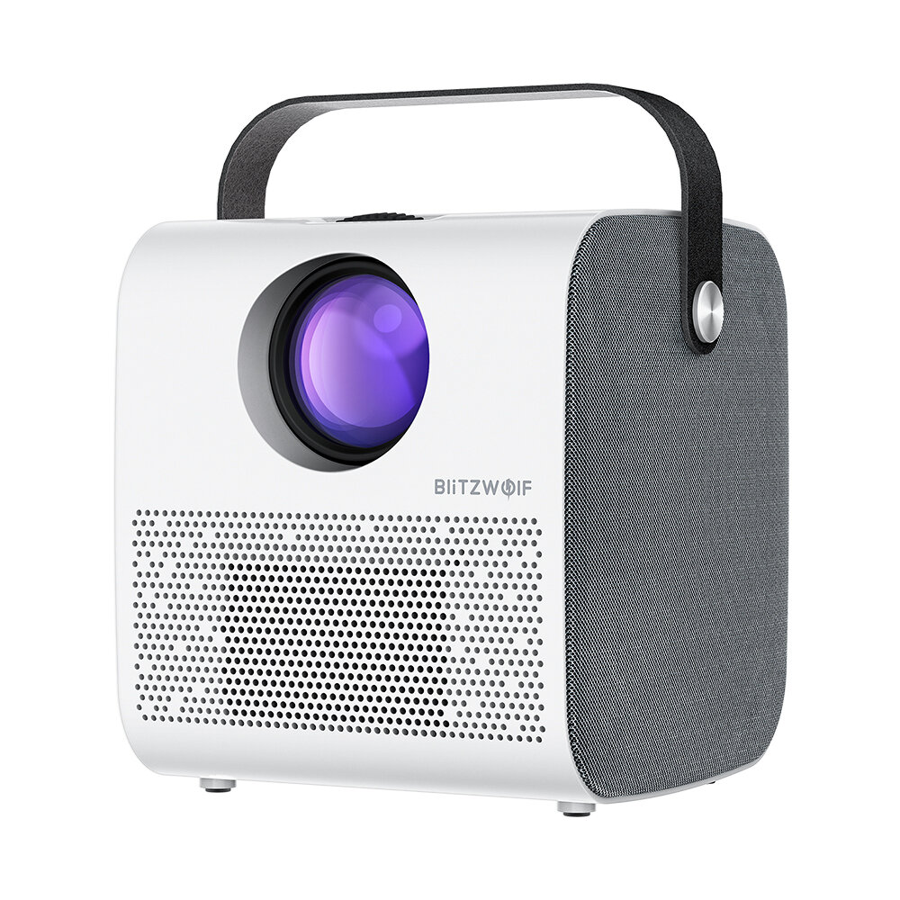 BlitzWolf® BW-VP5 Portable LCD Projector 3800 Lumens 1280*720P HD Multimedia bluetooth V4.0 Projector with 3W*2 Speakers Home Theater Projector Beamer