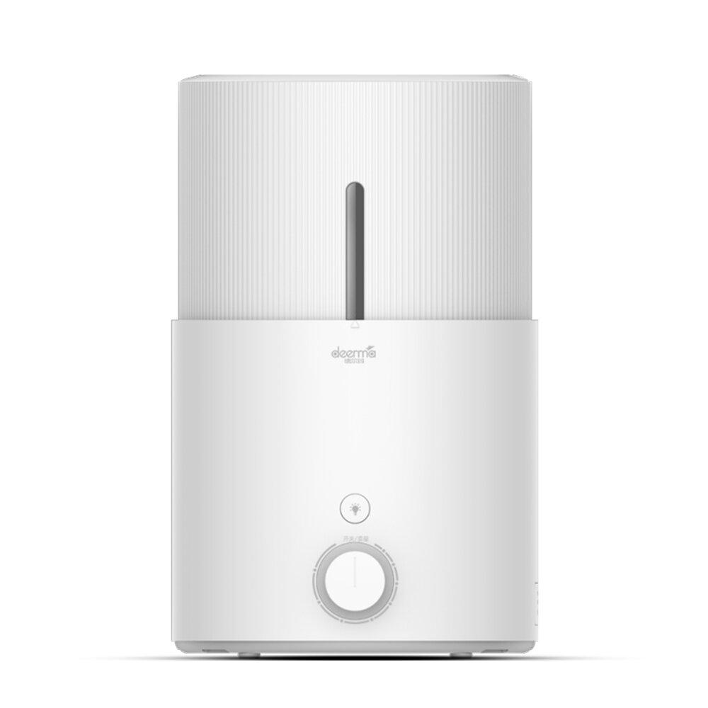 Deerma DEM-SJS600 Ultrasonic Atomization Humidifier Aroma Diffuser UV Lamp Purification from 5L Water Capacity 3 Modes Add Water