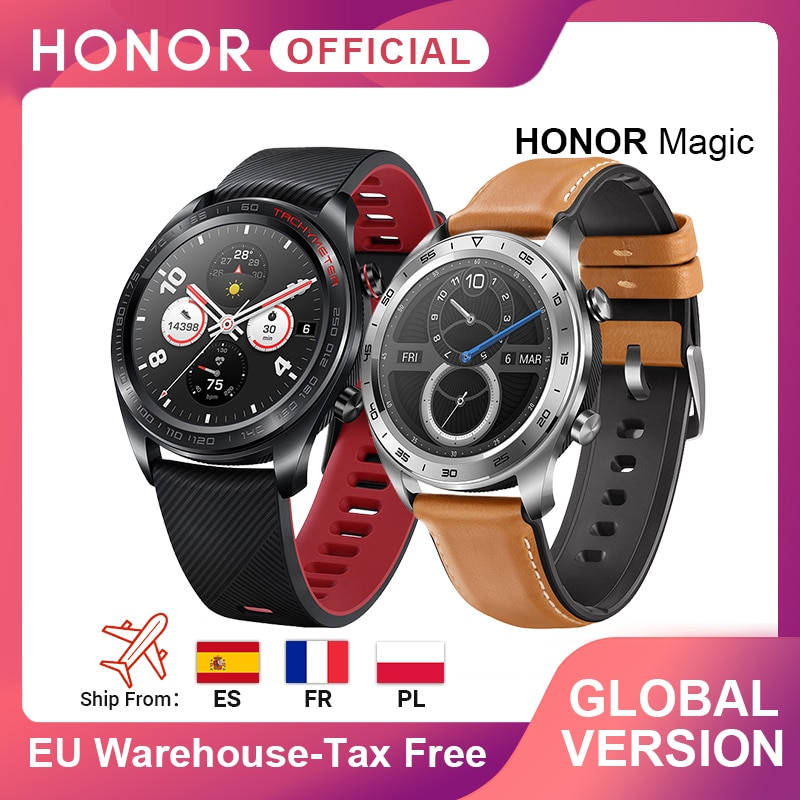 Global Version Honor Magic Watch SmartWatch Heart Rate WaterProof Tracker Sleep Tracker GPS WorkingPhone Call For Android iOS|Smart Watches| - AliExpress