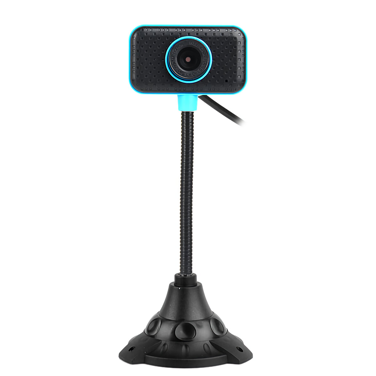 480P HD Webcam CMOS 30FPS 0.45 Million Pixels USB 2.0 USB Drive-free Camera Video Call Webcam with Microphone for Desktop Computer Notebook PC