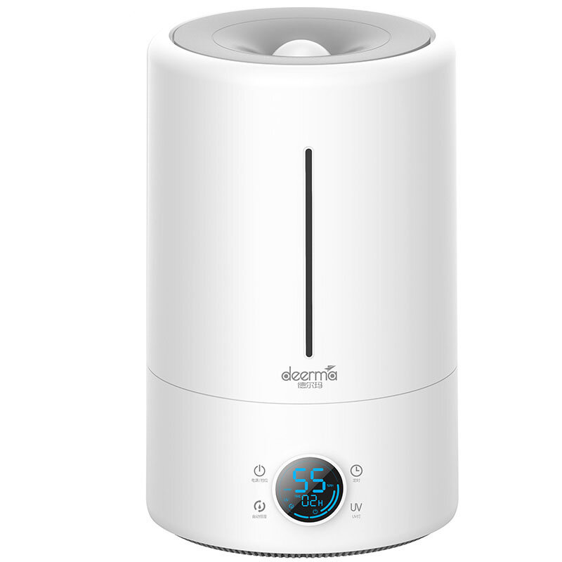 Deerma DEM-F628S/DEM-F628A/DEM-F628 Smart Humidifier UV Lamp Sterilization 3 Gear 5L Water Capacity 12H Timing Touch Display Low Noise for Air-conditioned Rooms Office Household