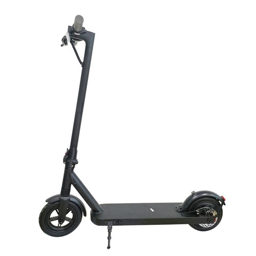 E8 Electric Folding Scooter 8.5 Inch tire 7.5Ah Battery 350W Motor Max Speed 20km/h Rear Disk brake max 25km range 3 Speed Modes - Black