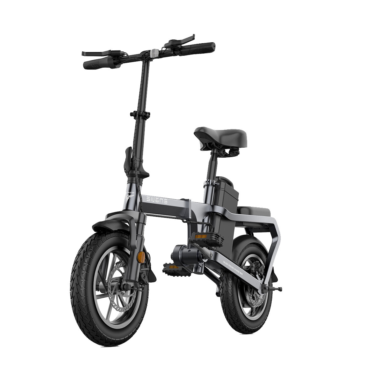 [EU DIRECT] ENGWE X5S 15Ah 48V 350W 14in Chainless Folding Electric Bike With Removable Battery 30km/h Top Speed E Bike