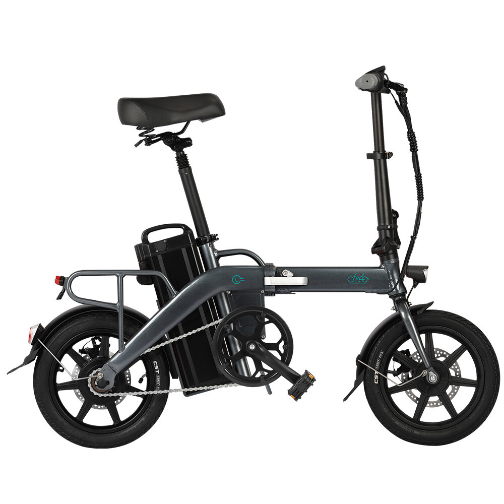 [EU DIRECT] FIIDO L3 Flagship Version 48V 350W 23.2Ah Long Distance Electric Bike 14 inch 25km/h Top Speed 130Km Max Mileage Electric Bicycle