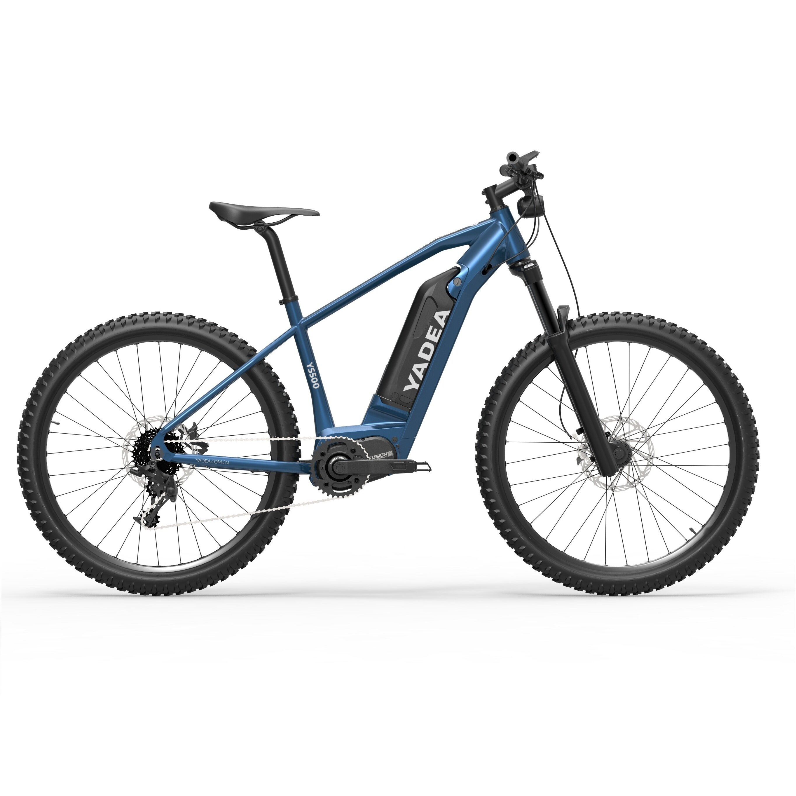 [EU DIRECT] YADEA YS500 27.5Inch 350W 13Ah 3-Speed Assist Mode Electric Bicycle 25Km/h Max Speed 80-100Km Mileage 150Kg Max Load Electric Bike