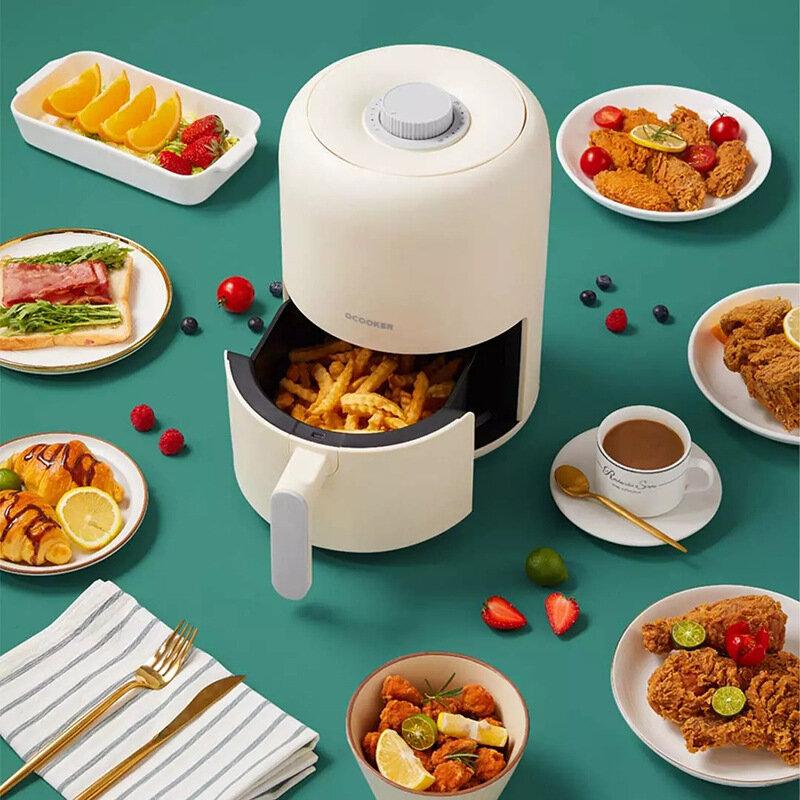 Ocooker CR-KG2801Y Full Automatic Air Fryer 220V 800W Oil Free 2L Air Grill Machine