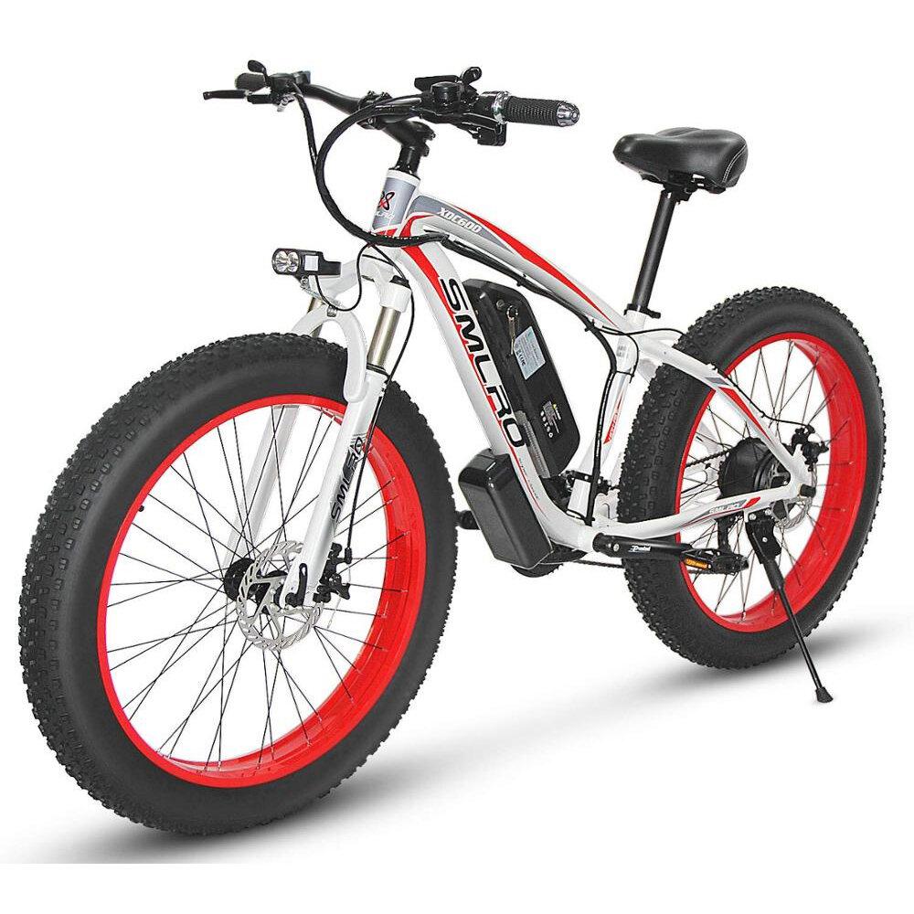 SMLRO XDC600 26in 48V 17.5Ah 1000W Electric Bike 50km/h Max Speed 95-110km Mileage Range Mountain Bicycle E Bike