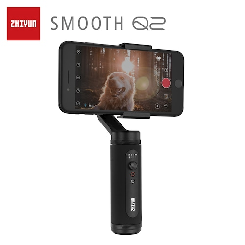 ZHIYUN Official SMOOTH Q2 Pocket size Gimbal for Smartphone iPhone Samsung Vlog Handheld Stabilizer
