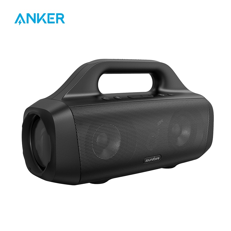 Anker Soundcore Motion Boom Outdoor Speaker with Titanium Drivers, BassUp Technology, IPX7 Waterproof, 24H Playtime Portable Speakers  - AliExpress