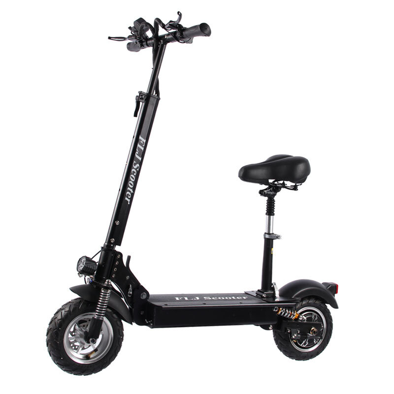 [EU Direct] FLJ C11 30Ah 48V 1200W 10 Inches Tires Folding Electric Scooter 45km/h Top Speed 90-100KM Mileage Range Electric Scooter Vehicle