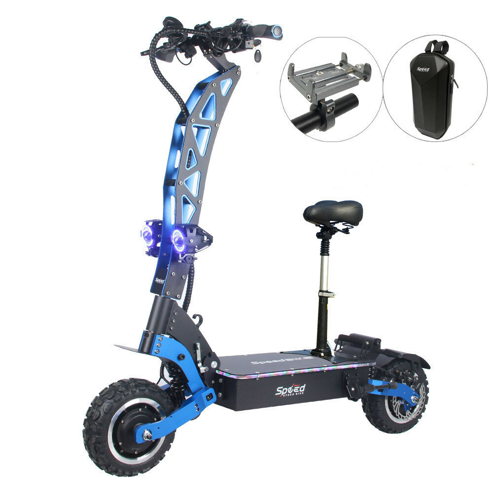 [EU Direct] FLJ Speedbike SK3 50Ah 60V 6000W Dual Motor 11 Inches Tires 90km/h Top Speed 100-120KM Mileage Range Electric Scooter Vehicle