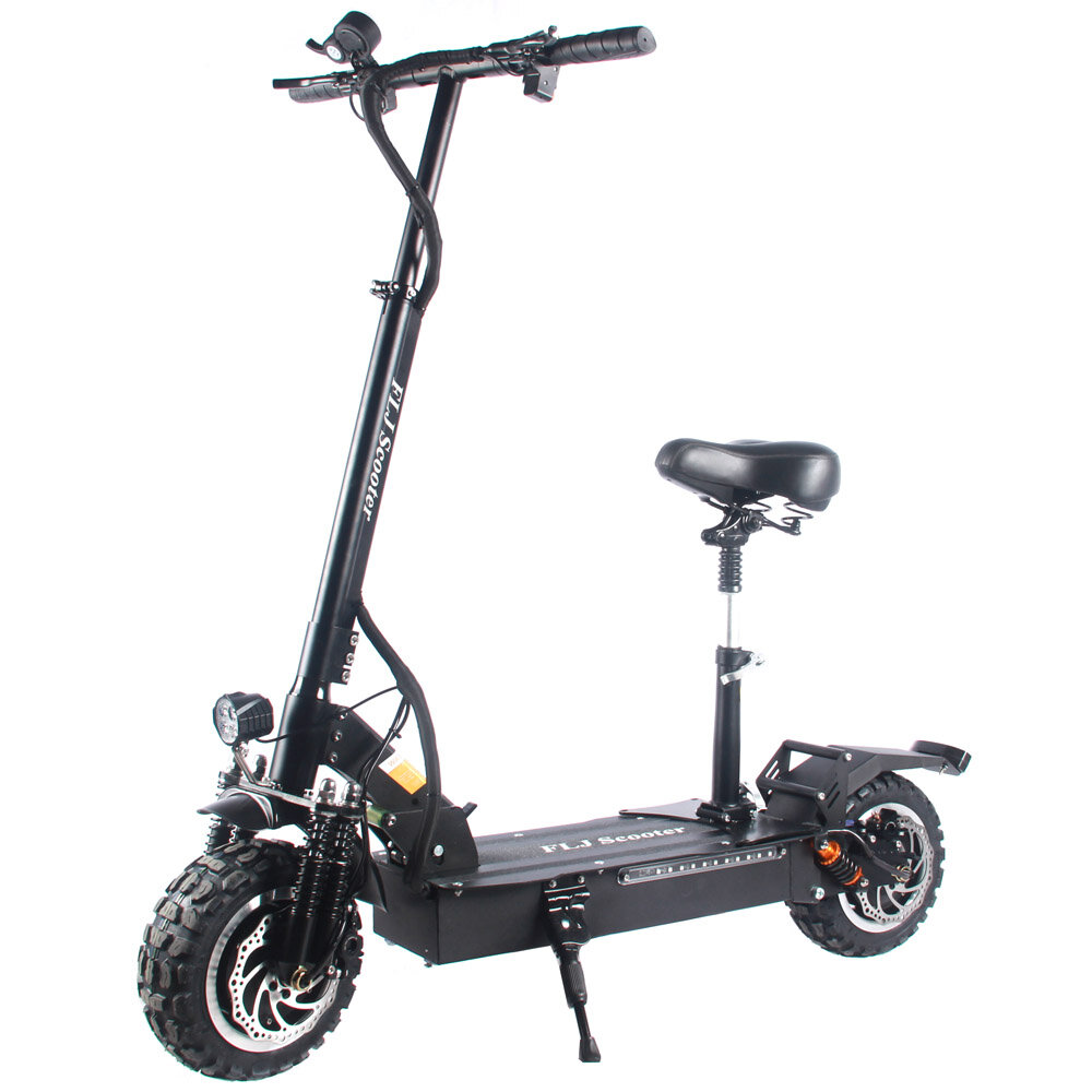 [EU Direct] FLJ T113 32Ah 60V 3200W 11 Inches Tires Folding Electric Scooter 65km/h Top Speed 100-120KM Mileage Range Electric Scooter Vehicle