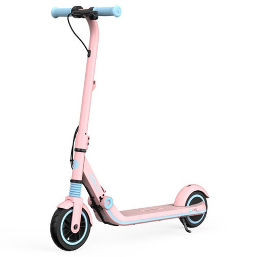 Ninebot Segway Kickscooter Zing E8 Folding Electric Scooter for Kids 130W Motor 14km/h Max Speed 2550mAh/55.08Wh Battery BMS aluminum alloy Frame BMS TPR Handlebar up to 10KM Range - Pink