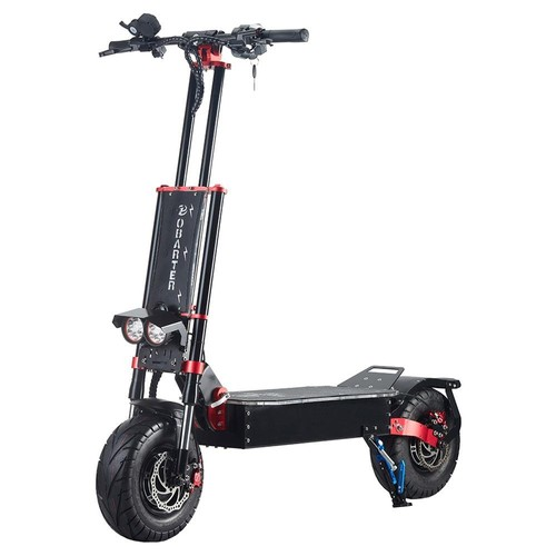 "OBARTER X5 Folding Electric Sport Scooter 13"" Off-road tyre 800W Brushless Motor 60V 30Ah Battery BMS 3 Speed Modes Oil Disc Brake Max Speed 85KM/h LED Display 120KM Long Range - Black"