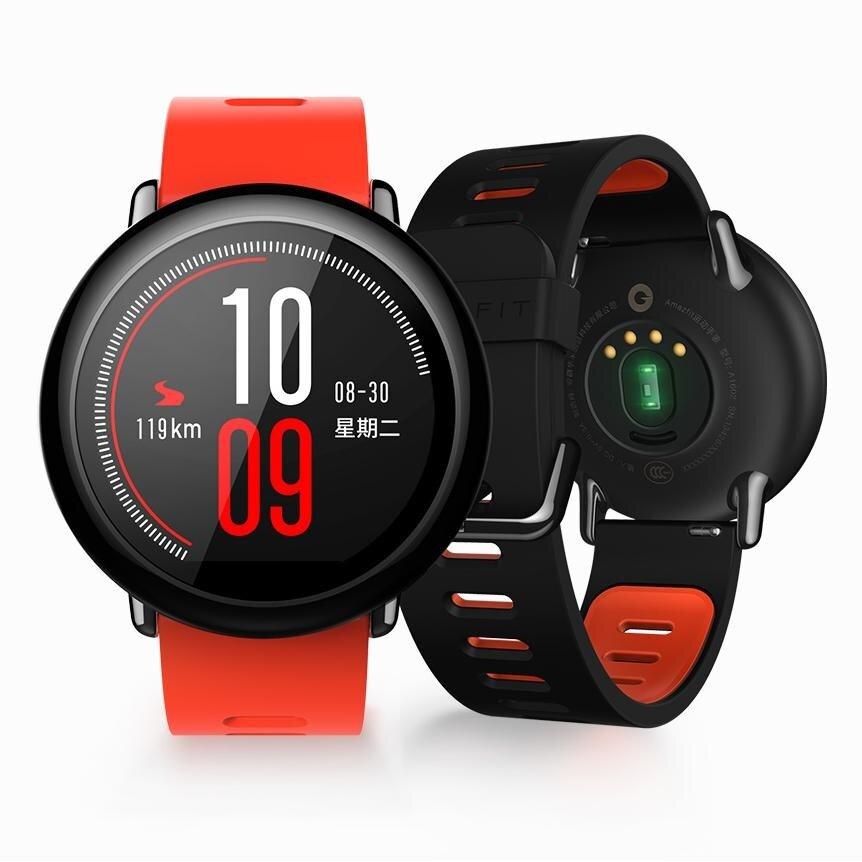 Original AMAZFIT IP67 Zirconia Ceramics GPS Heart Rate Monitor Smart Watch(English Version)