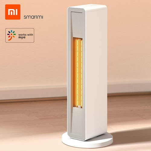 SmartMi Electric Air Heater with Wireless Remote Control, 2000W Power, Ceramic Heating Element, Wi-Fi and Mijia App Support for Living Room, Office, Home by Xiaomi Youpin