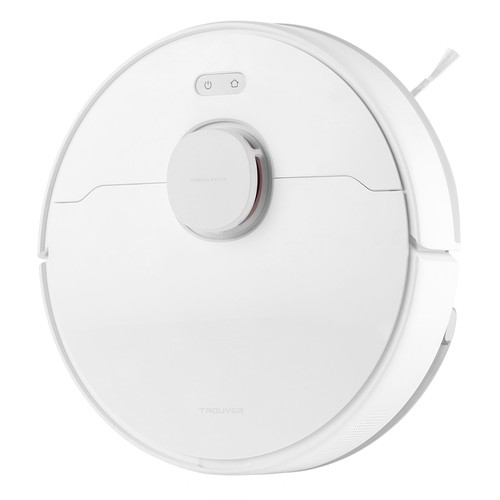 TROUVER Finder Robot Vacuum Cleaner 2-in-1 Sweep and Mop 2000Pa Powerful Suction LDS Laser Navigation 120 Mins Running Time 270ml Electric Water Tank 570ml Dust Box Mijia APP Control for Pets Hair, Carpets and Hard Floor