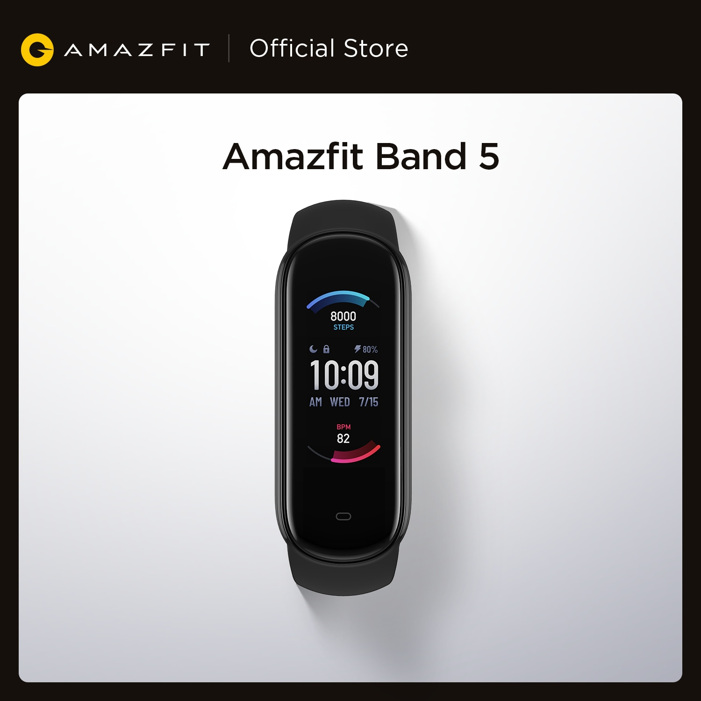 2020 New Amazfit Band 5 Smart Bracelet Color Display Fitness Tracker Waterproof Bluetooth 5.0 Sport Smart Wristband|Smart Wristbands| - AliExpress