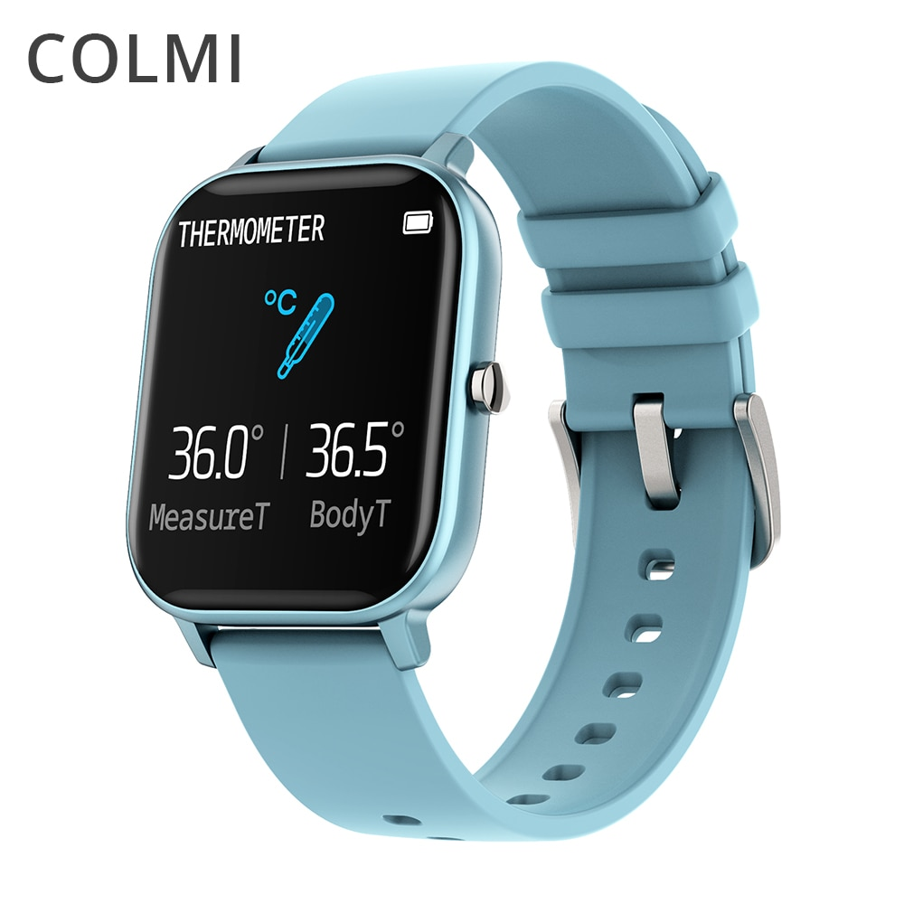 COLMI P8 Pro Smart Watch Temperature IP67 Waterproof Full Touch Fitness Tracker Heart Rate Monitor Women Men Smartwatch|Smart Watches| - AliExpress
