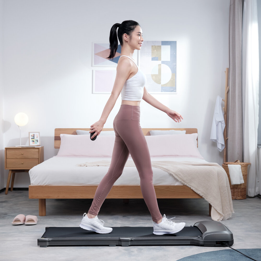 [EU Direct] WalkingPad C1 PRO Folding Treadmill Manual/Automatic Modes Walking Pad Non-slip Sports Fitness Walking Machine with EU Plug