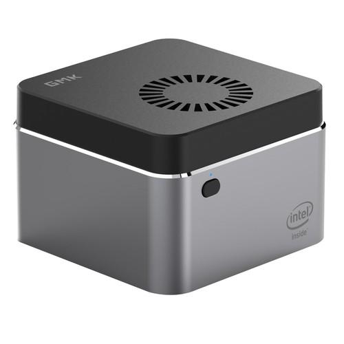 GMK NucBox Windows 10 4K Mini PC Intel J4125 Intel HD Graphics 600 8GB RAM 256GB SSD 2.4G/5G WiFi HDMI 2.0