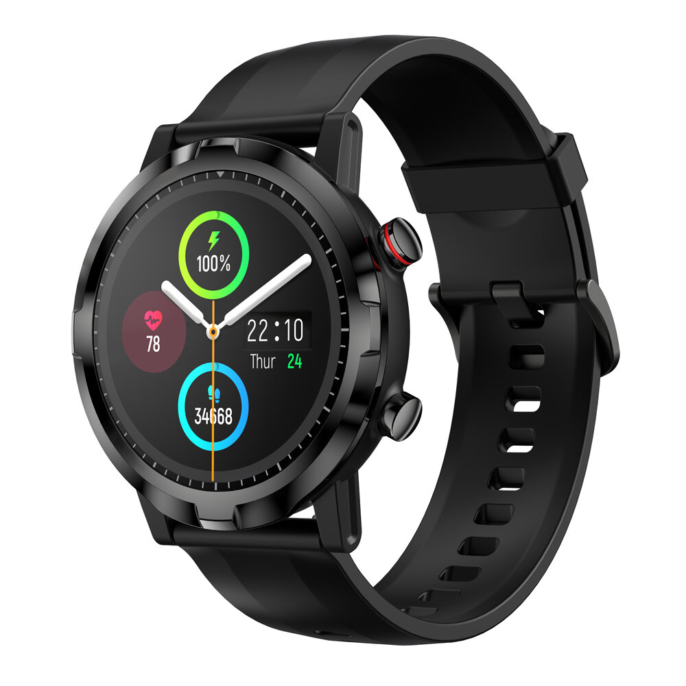 Haylou RT LS05S 1.28 inch HD Screen 24-hour Heart Rate Monitor Breathe Training Online Dial Replacement 12 Sport Modes 20 Days Standby BT 5.0 Smart Watch Global Version