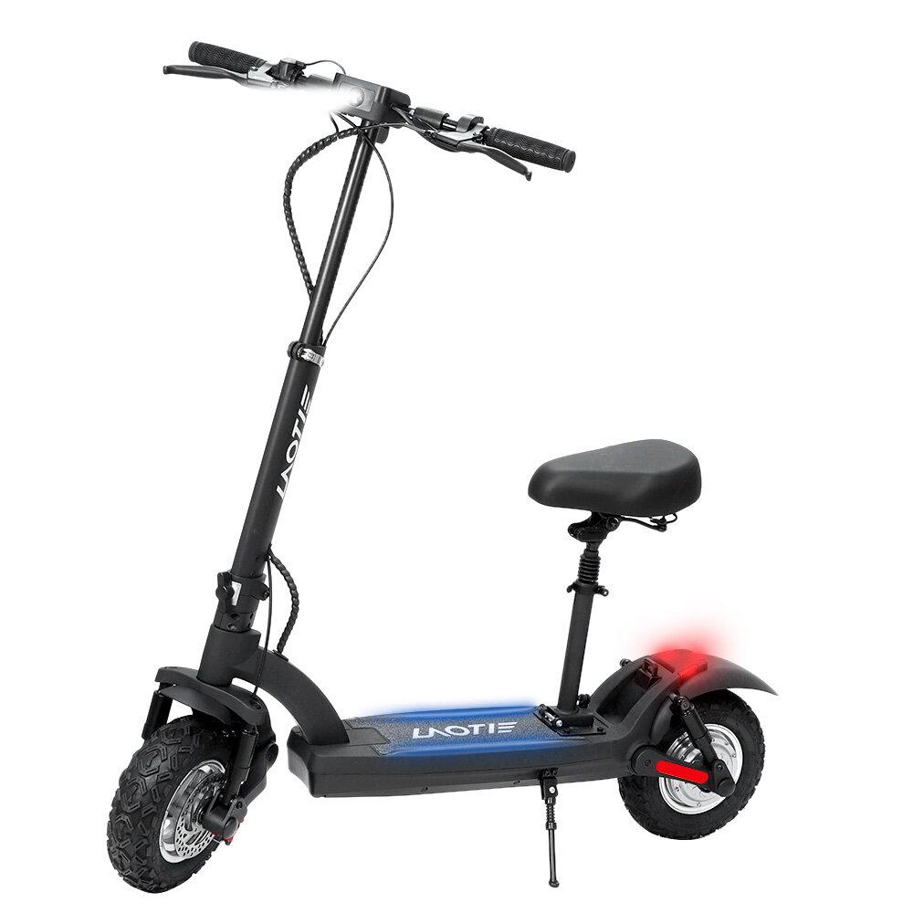 LAOTIE® ES8 48V 15.6Ah 500W Motor 45km/h Max Speed Off-Road Electric Scooter 10 Inch 55km Mileage Dual Dics Brake System Max Load 120kg EU Plug