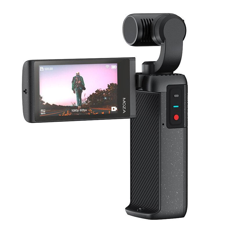 MOZA MOIN 4K/60fps HD Pocket Gimbal 120° Ultra-Wide-Angle 2.45 Inch Large-Screen Handheld Gimbal Vlog Camera