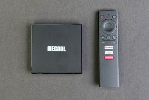 Mecool KM6 távirányító