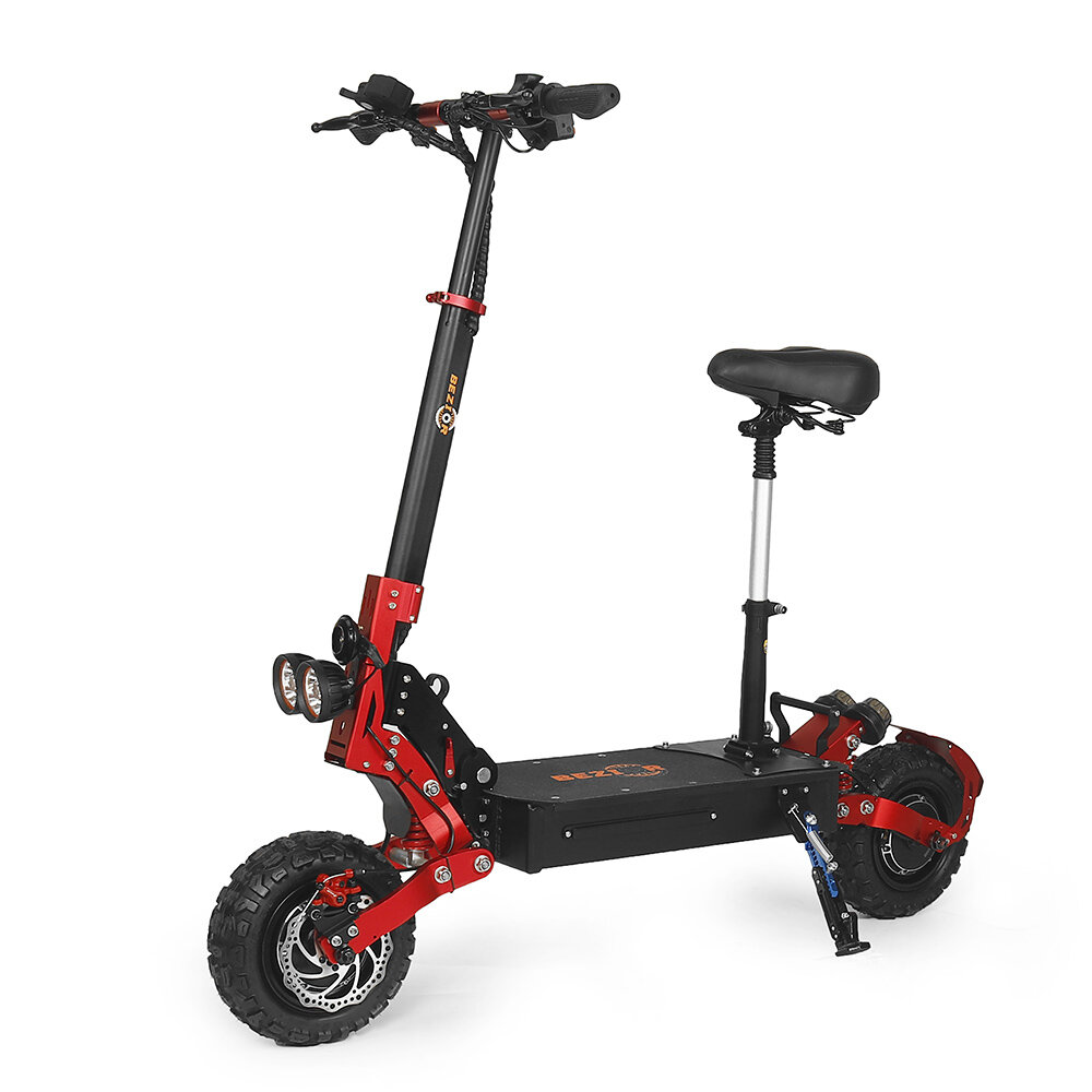 [EU DIRECT] Bezior S2 21Ah 48V 2400W Dual Motor Folding Moped Electric Scooter 11inch 40Km/h Top Speed 60km Mileage Range Max Load 120kg