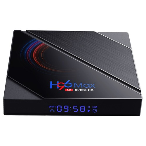 H96 MAX H616 2GB/16GB Android 10 TV Box Allwinner H616 2.4G+5.8G WiFi 100Mbps LAN bluetooth