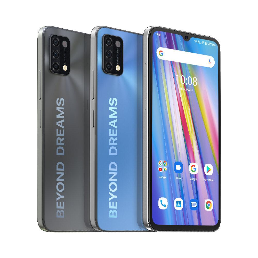 "UMIDIGI A11 Global Version Android 11 Helio G25 5150mAh 4GB 128GB 16MP AI Triple Camera 6.53"" HD+ Smartphone"