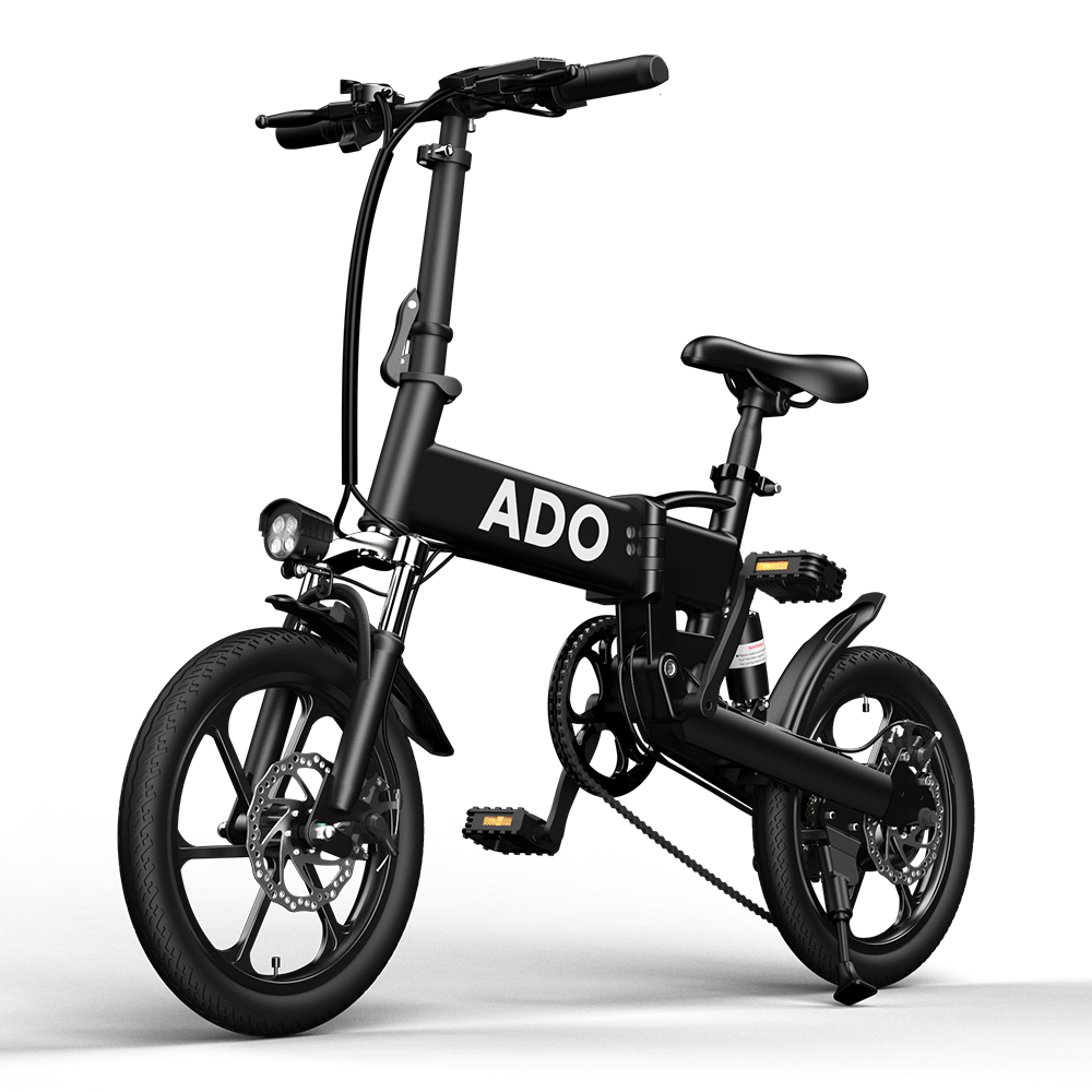 [EU DIRECT] ADO A16 250W 36V 7.8Ah 16 inch Electric Bike 25km/h Max Speed 70Km Mileage 120Kg Max Load Large Frame Releasable Max Speed Electric Bicycle