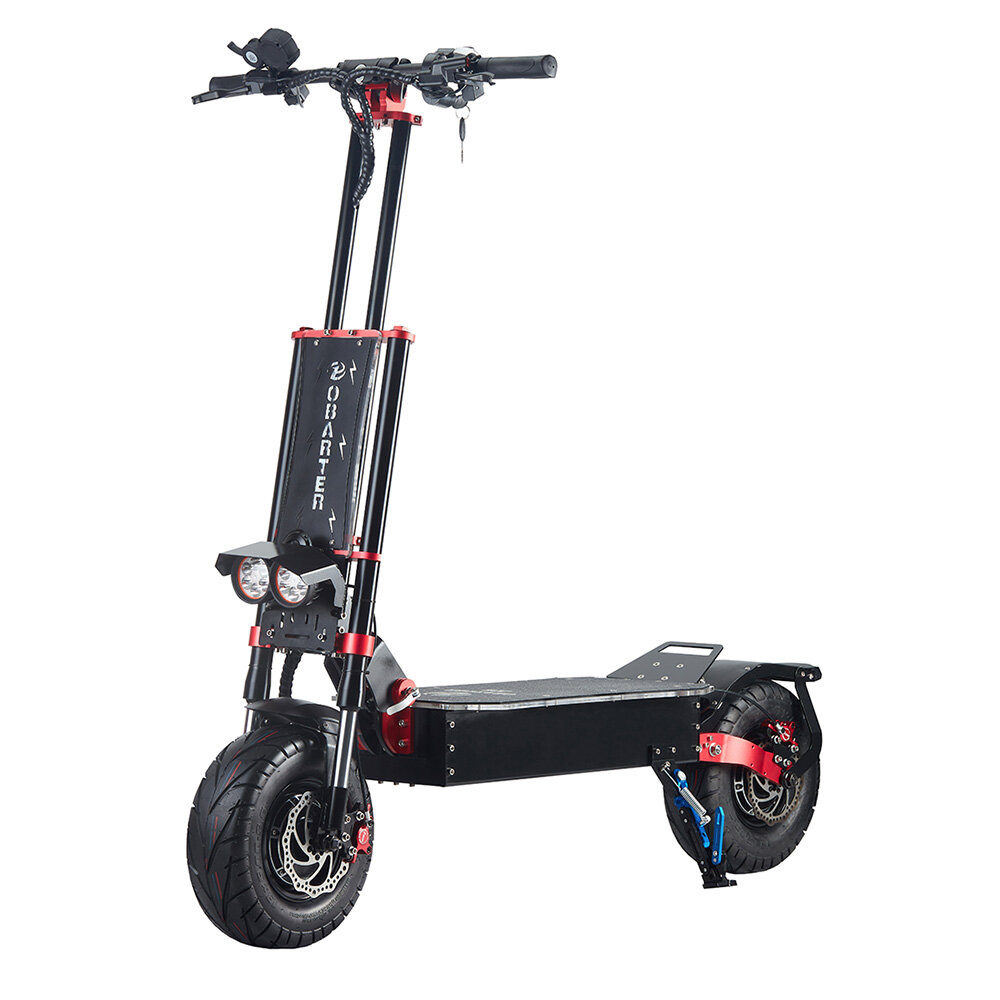 [EU DIRECT] OBARTER X5 30Ah 60V 5600W 13in Folding Moped Electric Scooter 85km/h Max 120KM Mileage Electric Scooter Max Load 160Kg