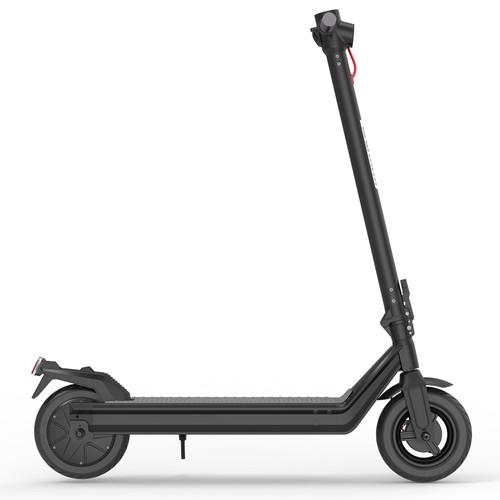 "Kukudel 105 Pro Folding Electric Scooter 10"" Tire 500W Motor 36V 15Ah Battery Max Speed 25km/h LCD Display 39-46km Long Range Aluminium alloy body - Black"