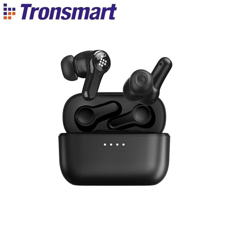 Tronsmart Onyx Apex Wireless Earphones Active Noise Cancelling Headphones Bluetooth 5.2 Earbuds with QualcommChip,TWS,APTX|Bluetooth Earphones & Headphones| - AliExpress