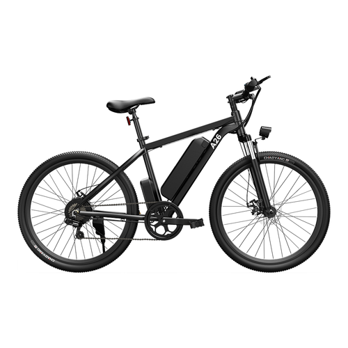 ADO A26 Electric Moped Bike 26 inch Mountain Bike 500W Hall Brushless Motor SHIMANO 7-Speed Derailleur 36V 12.5Ah Removable Battery 35km/h Max Speed up to 35km Max Range IPX5 Aluminum Alloy Frame - Black
