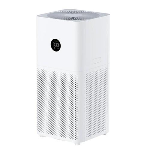Xiaomi Mi Air Purifier 3C Smart Digital LED Display Formaldehyde Remover Bacterial Sterilizer Air Freshener Low Noise Google Alexa APP Smart Control Global Version - White
