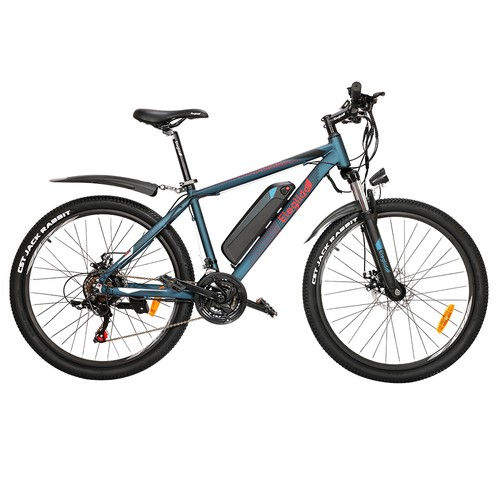 ELEGLIDE M1 Electric Bike 26 inch Mountain Urban Bicycle 250W Hall Brushless Motor SHIMANO Shifter 21 Speeds 36V 7.5Ah Removable Battery 25km/h Max speed up to 65km Max Range IPX4 Waterproof Aluminum alloy Frame Dual Disk Brake - Dark Blue