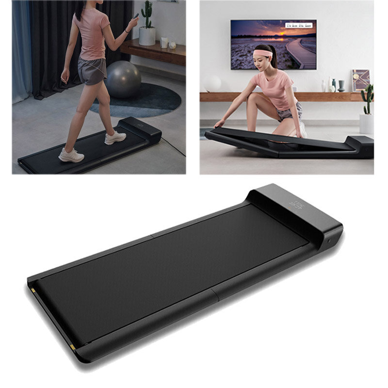 [EU DIRECT] WalkingPad A1 PRO Smart Electric Folding Treadmill For Home Walking Pad Automatic Speed Control LED Display Fitness Treadmills Indoor Home Gym with EU Plug