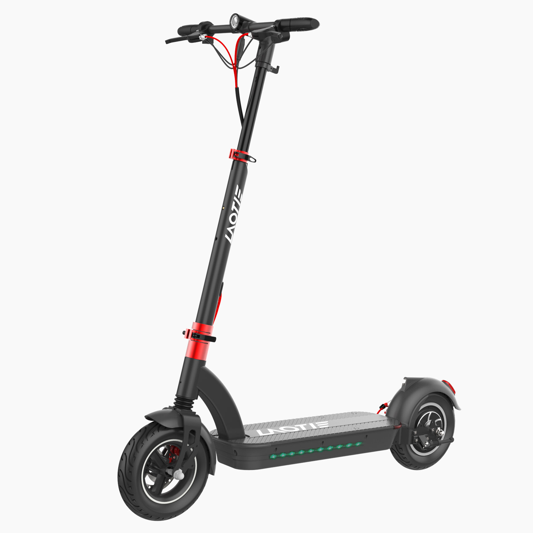 LAOTIE® H6 Pro 500W 48V 17.5Ah 10 Inches Folding Electric Scooter 40km/h Top Speed 60-70km Mileage Max Load 120kg Produced With Aerlang