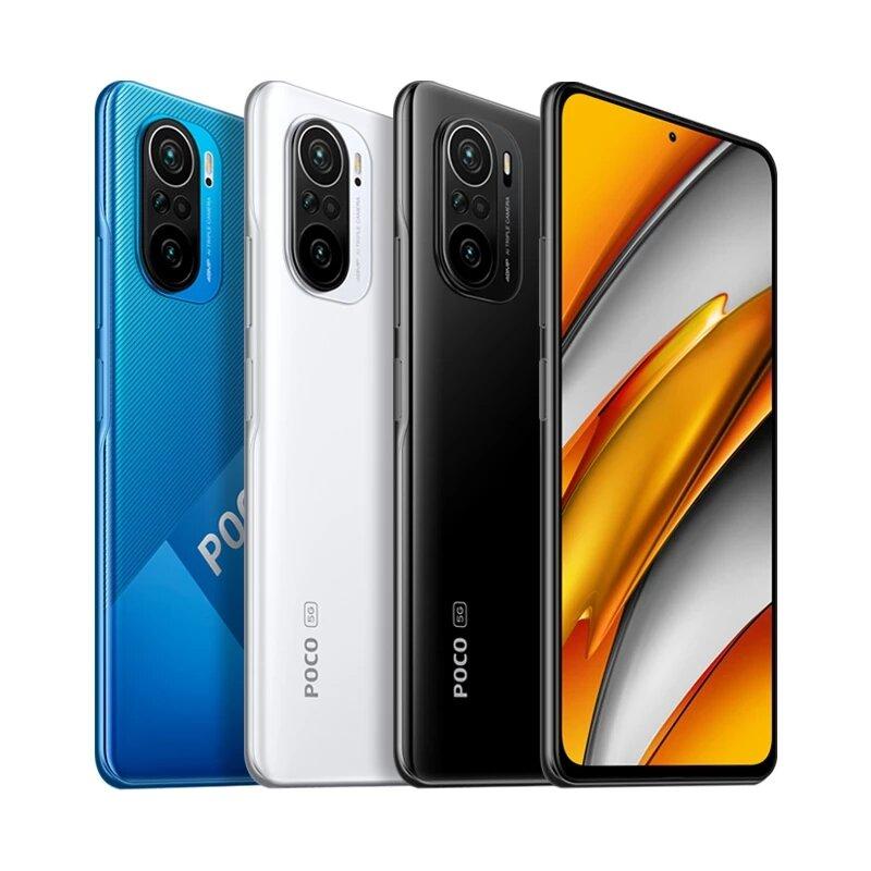 POCO F3 Global Version 6.67 inch 120Hz E4 AMOLED Display 8GB 256GB 48MP Triple Camera 4520mAh NFC Snapdragon 870 5G Smartphone