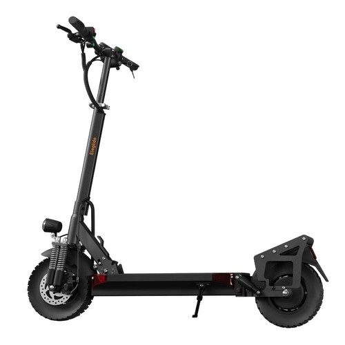 """Eleglide D1 Master Off-road Folding Electric Scooter 10"""" Tires 500W*2 Motor 48V 22Ah Battery 55km/h Max Speed up to 80km Max Range Front & Rear Disc Brake - Black"""