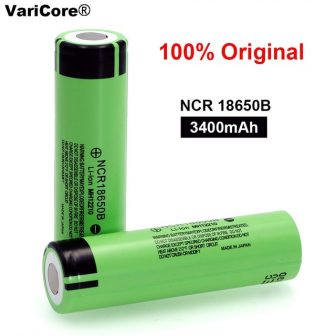 100% New Original NCR18650B 3.7 v 3400 mah 18650 Lithium Rechargeable Battery...