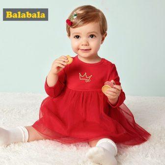 2018 New Flower Net Yarn Cotton Dress Princess Kids Baby Girls Sweet...