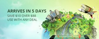 ARRIVES IN 5 DAYSSAVE $10 OVER $88USE WITH ANY DEAL