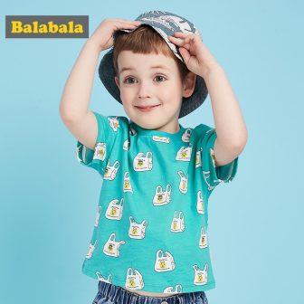 Balabala baby boy clothes t-shirts for summer kids cotton cartoon t shirt...