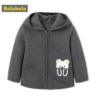 Balabala Baby Boys Jacket Autumn Winter Children Boys Infant Soft and Comfortable...